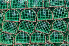 Fishing traps for octopuses and molluscs. Portugal. Royalty Free Stock Image
