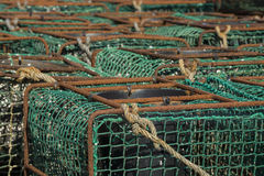 Fishing traps Royalty Free Stock Images