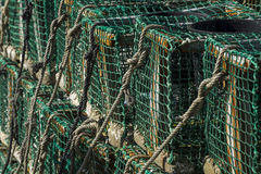 Fishing traps Royalty Free Stock Image