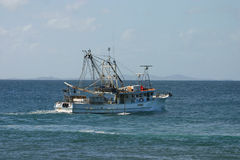 A fishing trawler 2 Royalty Free Stock Image