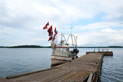 Fishing trawler Stock Image