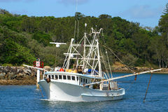 A fishing trawler Royalty Free Stock Photo