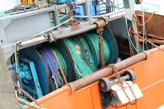 Fishing Trawler Boat. Stock Photography
