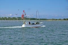 Fishing Trawler,Burgstaaken,Fehmarn,baltic Sea,Germany Royalty Free Stock Image