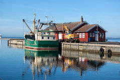 Fishing trawler Royalty Free Stock Images