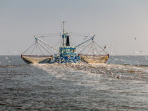 Fishing trawler, Holland Royalty Free Stock Photos