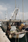 Fishing Trawler at Izola Stock Photography
