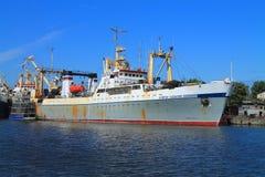 The fishing trawler  Royalty Free Stock Photo