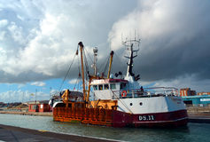 Trawler fishing boat Royalty Free Stock Images