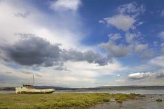Fishing Trawler Wreck royalty free stock images