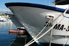 Fishing trawlers, Caleta de Velez. Stock Photos
