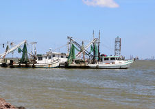 Fishing Trawlers Royalty Free Stock Images