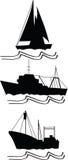 Fishing, trawlers and ship Stock Image
