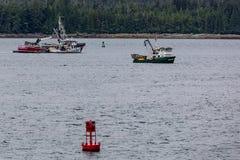 Fishing Trawlers in Sitka Royalty Free Stock Image