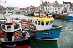 Fishing trawlers Royalty Free Stock Image