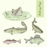 Fishing trip Stock Image