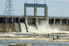 Free Fishing Under The Dam Stock Photos - 136323