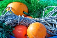 Fishing utensils Royalty Free Stock Photography
