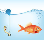 Fishing | VECTOR IMAGE Royalty Free Stock Photo