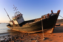 A fishing vessel Stock Images