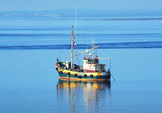 Fishing vessel Royalty Free Stock Images