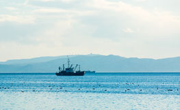 The fishing vessel Royalty Free Stock Photos