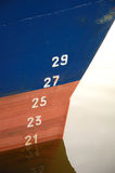 Fishing vessel bow Royalty Free Stock Image