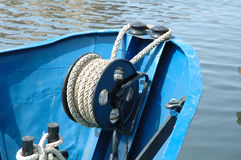 Fishing vessel bow Stock Image