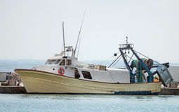 Fishing vessel. Royalty Free Stock Image