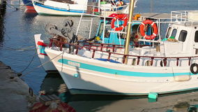Fishing vessels Royalty Free Stock Photography
