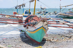 Fishing vessels in The Philippines Stock Photo