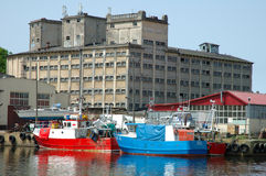 Fishing vessels Royalty Free Stock Photo
