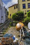 Fishing village Royalty Free Stock Images