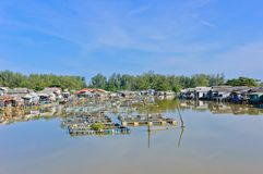 Fishing village Stock Images