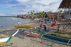 Fishing Village Stock Image