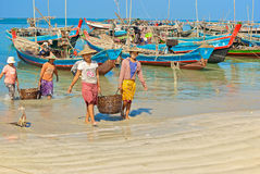 Fishing village Stock Photography