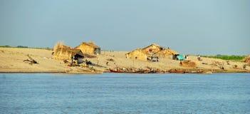 Fishing village Royalty Free Stock Image
