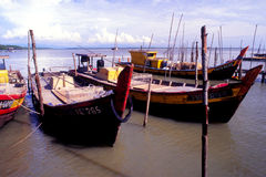 The Fishing Village Royalty Free Stock Photos