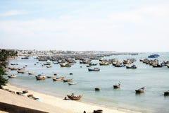 Fishing village. Fisherman village at mui ne, vietnam Royalty Free Stock Image