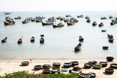 Fishing village Royalty Free Stock Image
