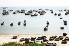 Fishing village. At mui ne, vietnam Royalty Free Stock Image