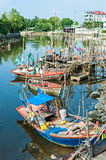 Fishing village Royalty Free Stock Photos