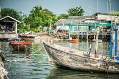 Fishing village Stock Photos