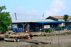 Fishing village, Borneo, Malaysia Stock Photography
