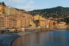 Fishing village of Camgoli, Italy Royalty Free Stock Image