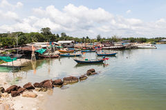Fishing Village . Royalty Free Stock Images