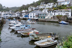 Fishing village Conwall England Royalty Free Stock Images