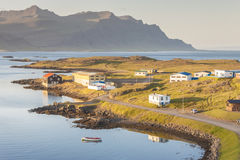 Fishing village Djupivogur - Iceland. Royalty Free Stock Photo