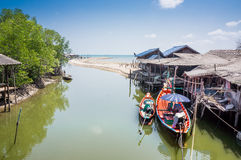 Fishing village Royalty Free Stock Photo