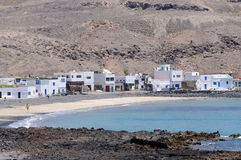 Fishing Village, Fuerteventura, Spain Stock Photos